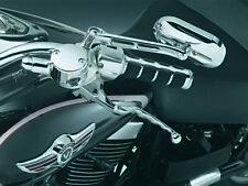 Kuryakyn 7427 Wide Style Levers for Kawasaki & Suzuki, Chrome CLOSEOUT