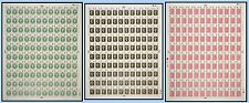 1970 Philympia - Complete Sheets - Full set (3) UNMOUNTED MINT/MNH