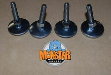"NEW 2"" LEG LEVELERS with Nut (SET of 4) Heavy Duty - Pinball & Arcade Cabinets"