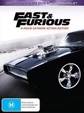 FAST and FURIOUS Complete 1 - 8 Movie Collection : NEW DVD