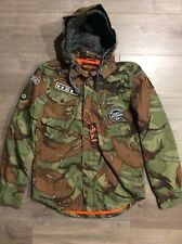 Super Dry Men's Military Storm Hood-Small-NWT.
