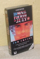 Born on the Fourth of July (1989) - Widescreen VHS - Tom Cruise, Oliver Stone