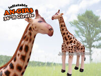 Inflatable Giraffe Animals Stuffed Animals Pool Party Decoration Birthday