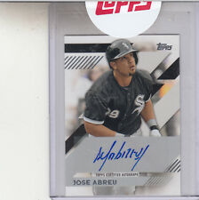 2014 TOPPS MINI BASEBALL ON LINE EXCLUSIVE JOSE ABREU ROOKIE  AUTOGRAPH AUTO