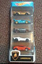 New Hot Wheels Lamborghini 5 Pack - great gift