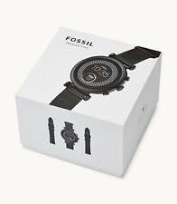 NEW Fossil FTW6055 Smartwatch Gen 4 Sloan Smart Watch w/ 3 Bands + Trackers
