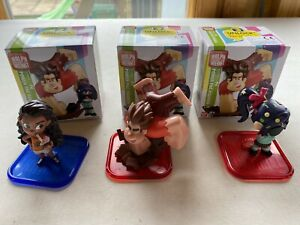 Disney Ralph Breaks The Internet Mini Figure Doll Bundle Power Pac Series 2