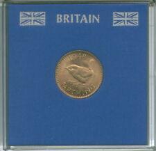 1948 Re Giorgio VI Farthing (BU) pre-Decimale Coin in stampato con custodia set regalo