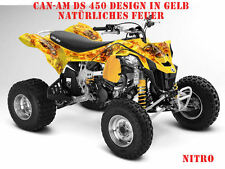 Invision DECORO KIT ATV CAN-AM Renegade, ds250, ds450, ds650 GRAPHIC KIT NITRO B