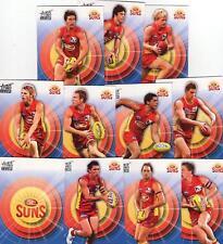 2011 AFL select INFINITY COMMON TEAM SET GOLD COAST
