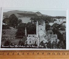 Vintage Photo Postcard Port Arthur Tasmania AB Series No 49 Australia