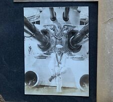 HISTORIC 1908 186 PHOTOS US Navy Atlantic Fleet PHOTO ALBUM USS Kearsarge <WW1
