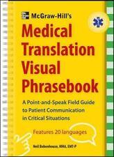 McGraw-Hill's Medical Translation Visual Phrasebook: 80 Key Expressions in 20 La
