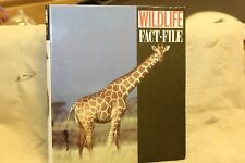 Wildlife Fact File with Binder Animal Identification and Conservation Guide