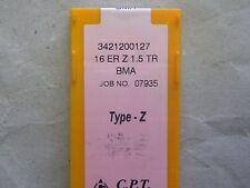 Placas de rosca de cpt, tipo Z, 16er 1,5 TR BMA, como r166.og/266rg trapeciales