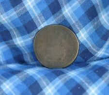 1724 Great Britain 1/2 Penny Half World Coin Britania Seated UK England RARE c