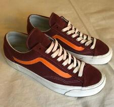 Vans Vault Og Style 36 lx M 10 Burgundy Orange Old Skool