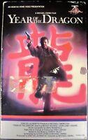 Year of the Dragon 1985 (Big Box, VHS, 1986) MGM (USED - GOOD) FREE SHIPPING!