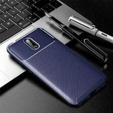 """Per Nokia 2.3, 6.2 """", Fibra di Carbonio Anti-urto Gel Custodia Cover Telefono+"""