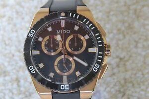 Mido Ocean Star Captain Chronograph Men's Watch M023.417.37.051.00