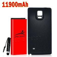 Upgraded 11900mAh Extended Battery+Back Cover for Samsung Galaxy Note 4 SM-N910