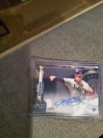 2020 TOPPS CHROME MICHAEL BROSSEAU RC AUTO #RA-MBR RAYS +9  10 RC cards total