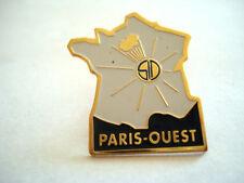 PINS RARE CARTE DE FRANCE SD S.D ENERGIE SOLAIRE PARIS OUEST EDF