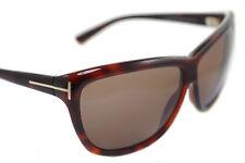Tom Ford Dalia Tf127 52j mujer grande Wayfare gafas de Sol Marrón Havana