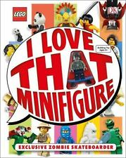 LEGO LOVE THAT MINIFIGURE BOOK EXCLUSIVE ZOMBIE SKATEBOARDER  (2015, Hardcover)
