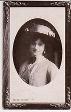 "Vintage Postcard Gertrude ""Gertie"" Millar Countess Dudley English actress RPPC"