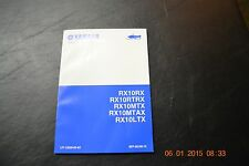 YAMAHA RX10RX RX10MTX RX10 OWNERS MANUAL 8FP-28119-13-00 NEW HARD COPY MANUAL