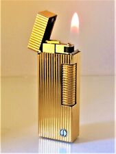 Dunhill Rollagas Lighter (Gold Lined Design) with a 12 month Guarantee!