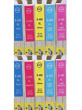 10pk  481-486 Color Ink For Epson Stylus Photo R200 R220 RX620 R300 HQ
