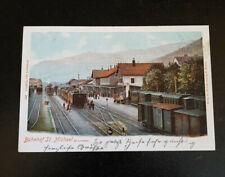 AK BAHNHOF / ST. MICHAEL ob Leoben ca 1910 ZUG EISENBAHN