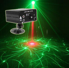 48 Pattern Red Green Laser light Blue Led indoor Christmas Light remote KTV DJ