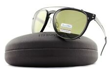 POLARIZED SERENGETI PALMIRO Satin Black PHD 555 Clip-On Sunglasses 8053