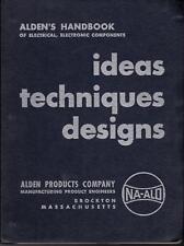 1953 ALDEN PRODUCTS CO. HANDBOOK CATALOG Radio TV Custom Electronic Components