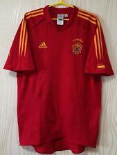 SPAIN NATIONAL TEAM 2003 2004 ADIDAS HOME FOOTBALL SOCCER SHIRT CAMISETA MAILLOT