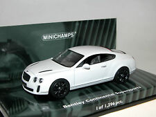 Minichamps 436139802, Bentley Continental Supersports, 2009, White Satin, 1:43