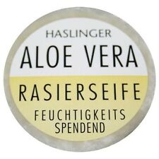 (5,00€/100g) Haslinger Rasierseife Aloe Vera - wirkt enzündungshemmend