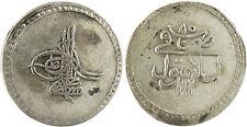 TURQUIE  ,  MUSTAFA  III ,  PIASTRE  ARGENT  1171   AN  85   CONSTANTINOPLE