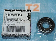 roulement de boite de vitesse KTM 0625062036 SKF 6203 RSH C3 17x40x12mm