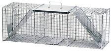 Havahart1045 Live Animal Two-Door Raccoon, Stray Cat,Opossum&Groundhog Cage Trap