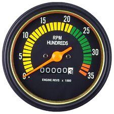 85mm 0-3500 RPM Mechanical Tachometer Gauge