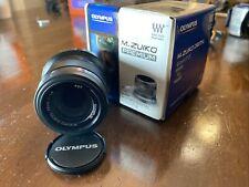Olympus M.Zuiko ED 45mm f/1.8 Excellent condition MFT Prime