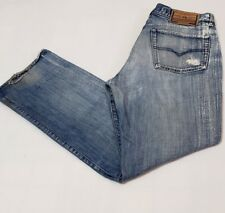 Diesel Industry RR55 Men's 34 Made in Italy Button Fly Denim Blue Jeans