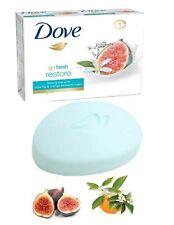 Dove Go Fresh Restore Cream Bar soap With Blue Fig & Orange Blossom Scent 100g