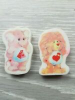 Vintage Care bear Erasers/Rubbers Gommes Kawaii Fairy Kei Style