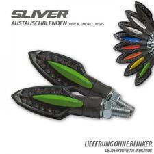 SHIN YO LED Motorrad Blinker MULTIFACE grünes Geh Leuchtstreifen auf Rückseite
