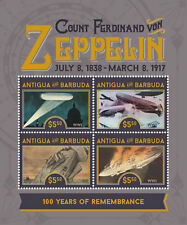 Antigua and Barbuda-2017 ZEPPELIN, 100 YEARS OF REMEMBRANCE,world war I-I70001